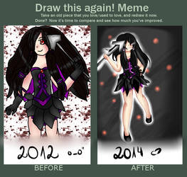 Draw this again Meme (By Liellia) by x3Lielliax3