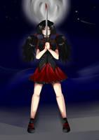 Saya from Blood C by x3Lielliax3