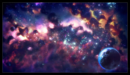 Epic Space: Great Nebula by ERA-7
