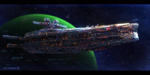 Antian Battleship Makatias Class by ERA-7