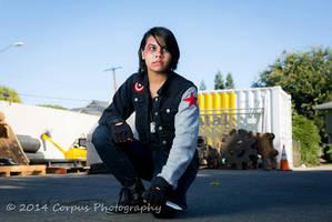 Punk!Bucky/Winter Soldier by Toki101sos