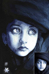 ink girl by Mundokk