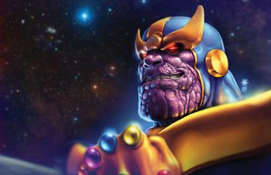 Thanos Reigns!!! by Mundokk