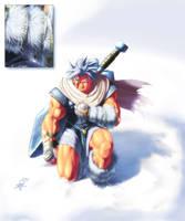 pray before the battle by Mundokk