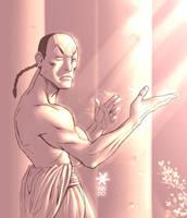 Shaolin monk by Mundokk
