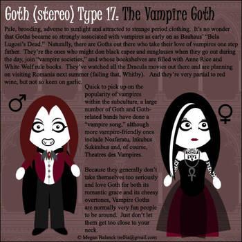 Goth Type 17: The Vampire Goth by Trellia