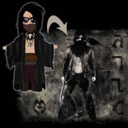 Commission: Noah Veil Character Design by Trellia
