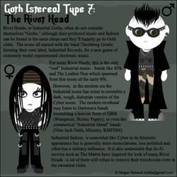 Goth Type 7: The Rivet Head by Trellia