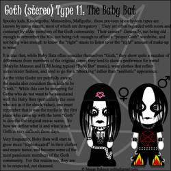 Goth Type 11: The Baby Bat by Trellia