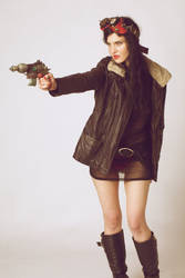 DieselPunk girl 05 by Nightvenjer