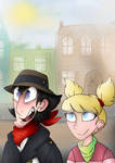 Penny and Oc-Gadget by UKRIEGER-OFFICIAL