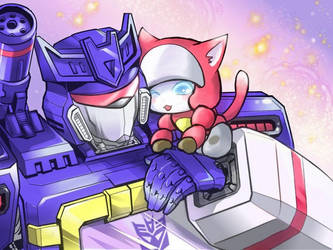 SW and Kitty Blaster by sishamon10
