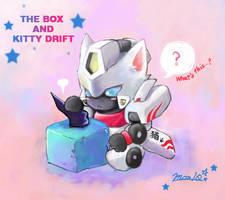 The box and Kitty Drift by sishamon10