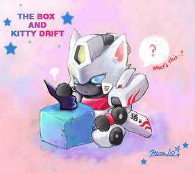 The box and Kitty Drift by sishamon10