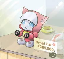 Kitty Blaster by sishamon10