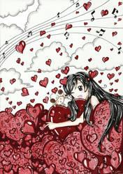 Melodic Heart by CielCiella