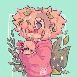 pink children by mutatedeye