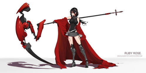 Ruby Rose : Future 3.0 by dishwasher1910