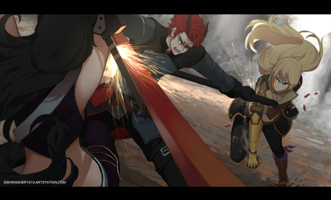 Fight by dishwasher1910