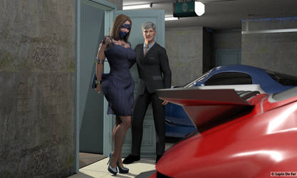 Going out 24 - The garage by LapinDeFer