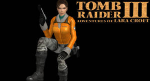XNALara - Tomb Raider III Antarctica pose by JasonCroft