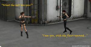 XNALara - Beneath the Ashes / Lara's Shadow by JasonCroft