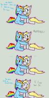 rainbow derp by procaballus