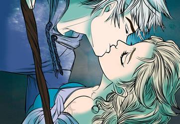 Jelsa in blue by FireEnze