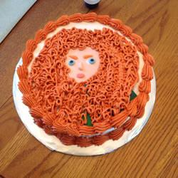 Merida Cake by GmrGirlX