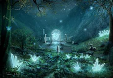 Dreamland border by FeriAnimations