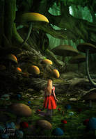 Mushroom forest by FeriAnimations