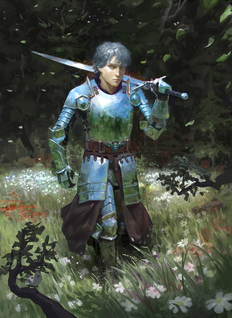 Silver Knight by ArturTreffner
