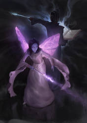 Violet Wings by ArturTreffner
