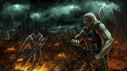 We are THE GEARZ oF WAR by bsievers