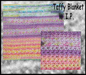 Taffy Blanket WIP by Fallonkyra