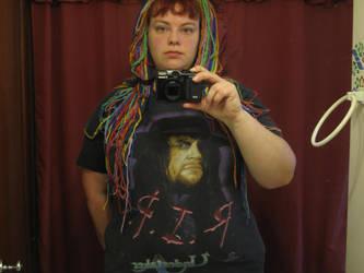 Me ready for wrestlemania 30 by Fallonkyra