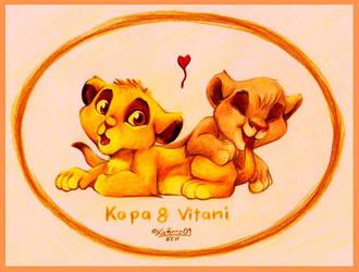 kopa and vitani by kati-kopa