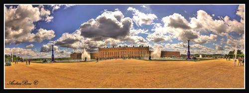Sky above Versailles by andreareno