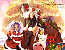 Christmas card 2012 by Amaipetisu