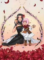 FFXIV: Blossom by Amaipetisu