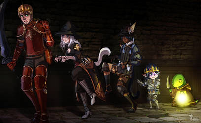 Commission: Wolf by Amaipetisu