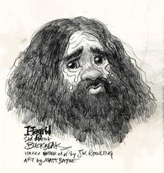 Sad Hagrid by heymatt