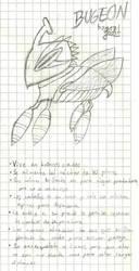 Bugeon en lapiz by 17GhosT