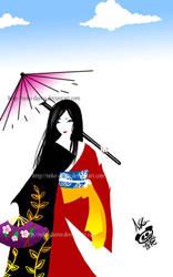 Geisha by neko-dansu