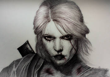 Ciri The Witcher 3 by MarieStars