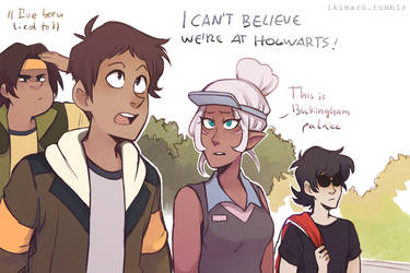 Not Hogwarts by ikimaru-art