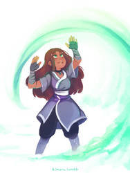 Katara by ikimaru-art