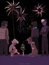 New Year by ikimaru-art