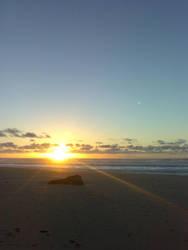Sunset 28 feb by archizero