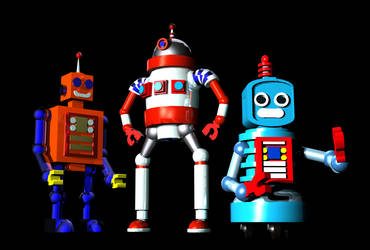 Robots by archizero